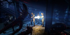 Aliens Colonial Marines action shot
