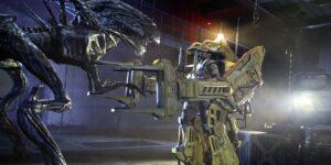 Aliens Colonial Marines power loader queen xenomorph battle