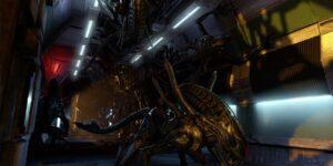 Aliens Colonial Marines xenomorph horde