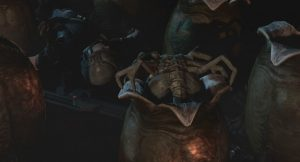 Aliens colonial marines facehugger and eggs