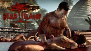 Dead Island Man mourning dead woman