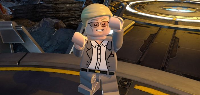 Lego Batman 3 Adam West