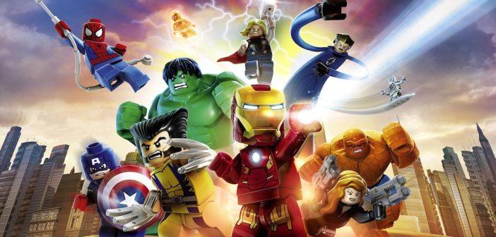 Lego Marvel Superheroes Gold Bricks