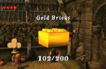 Lego Harry Potter Years 1-4 Gold Bricks