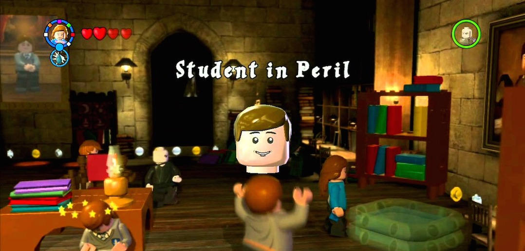 Lego Harry Potter Years 1 4 Student In Peril List Bone Fish Gamer
