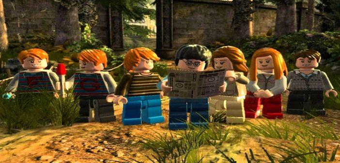 Lego Harry Potter Years 5 - 7 Hogwarts Crest Guide - Bone Fish Gamer