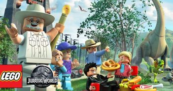 Lego Jurassic World Gold Bricks