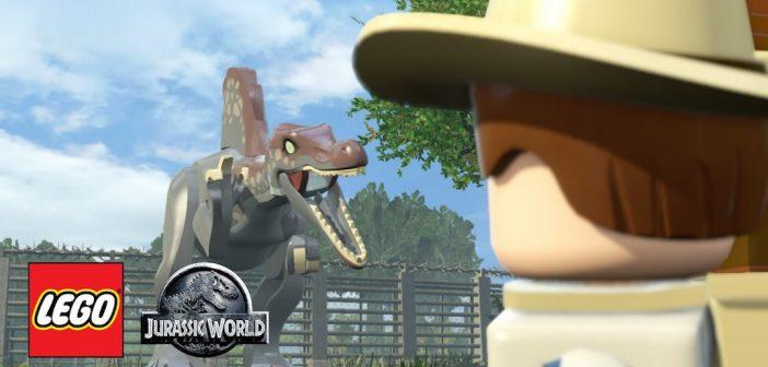 Lego Jurassic World Worker In Peril