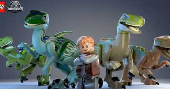 Lego Jurassic World Races