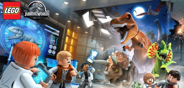 Lego Jurassic World Red Bricks