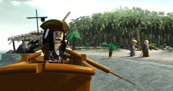 Lego Pirates of the Caribbean Ship in a Bottle