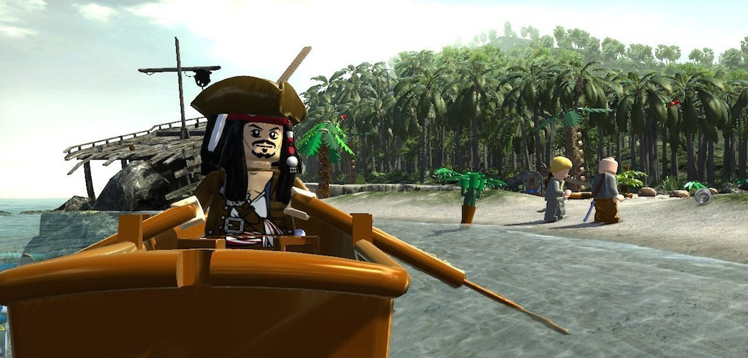 Lego Pirates Of The Caribbean Ship In A Bottle Guide Bone Fish Gamer