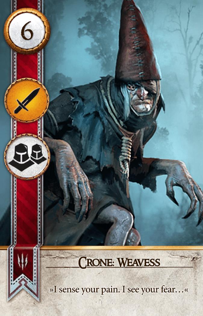 Crone: Weavess Gwent Card