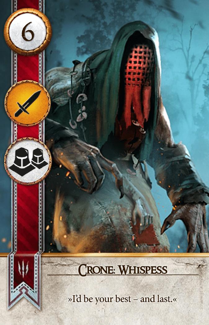 Crone: Whispess Gwent Card