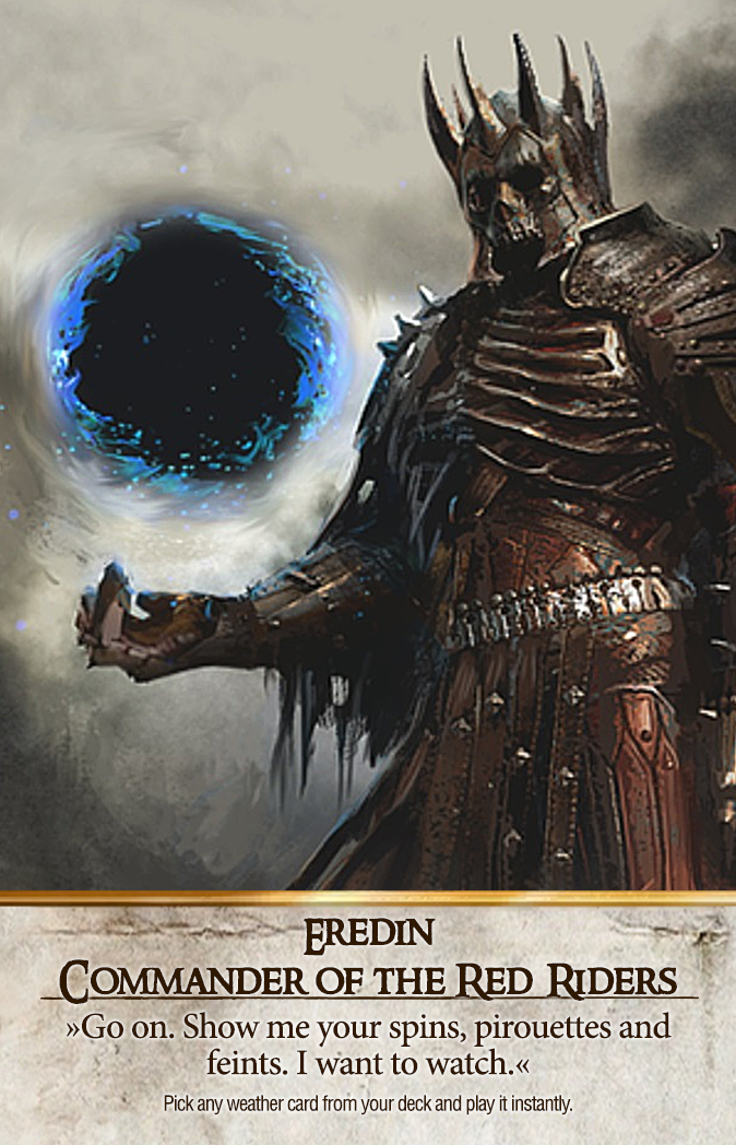 Eredin: Commander of the Red Riders Gwent Card