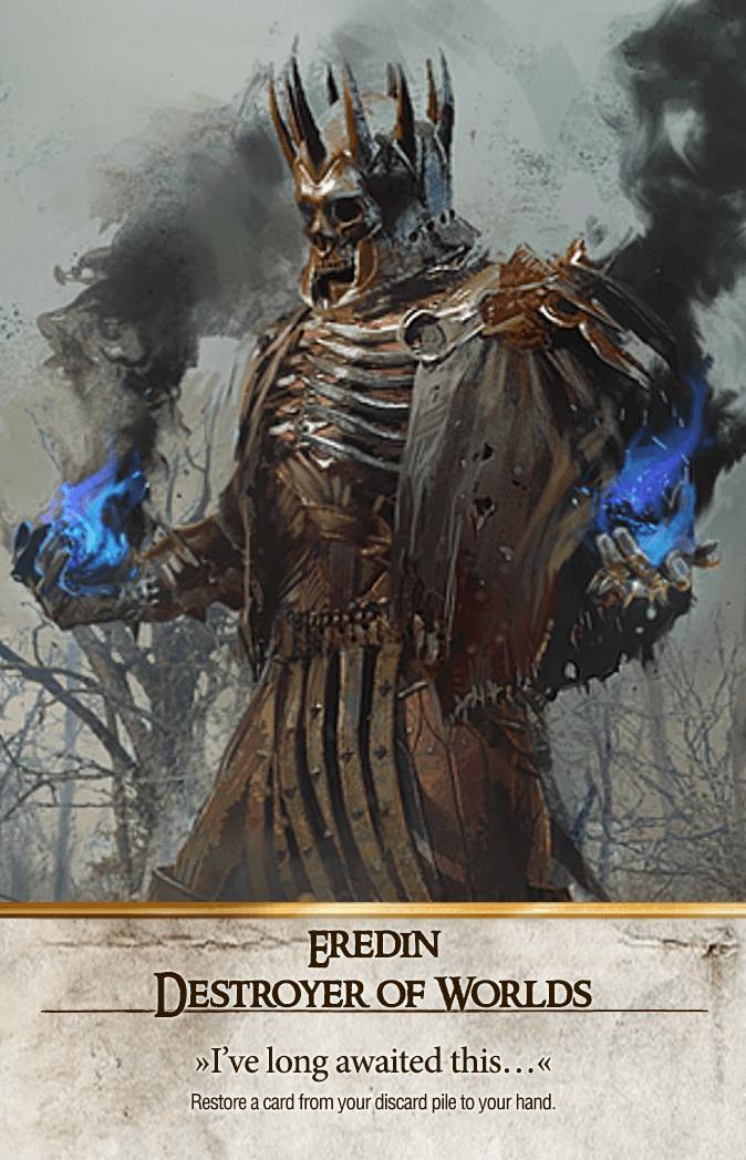 Eredin: Destroyer of Worlds Gwent Card