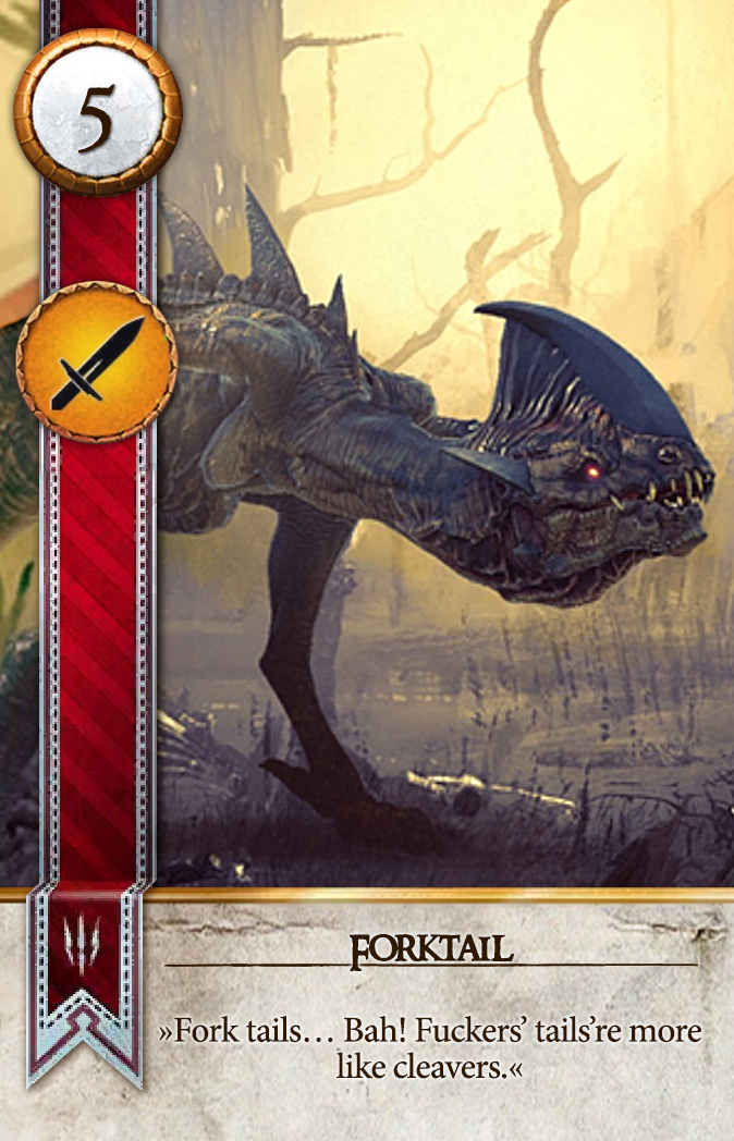 Forktail Gwent Card