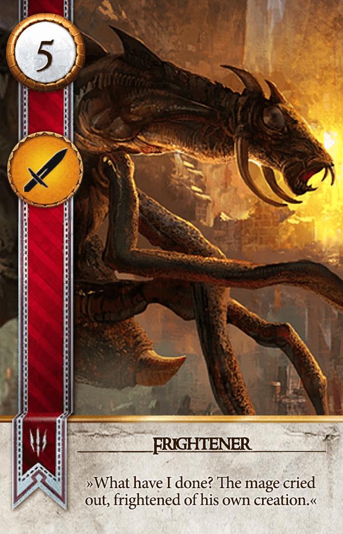 Frightener Gwent Card