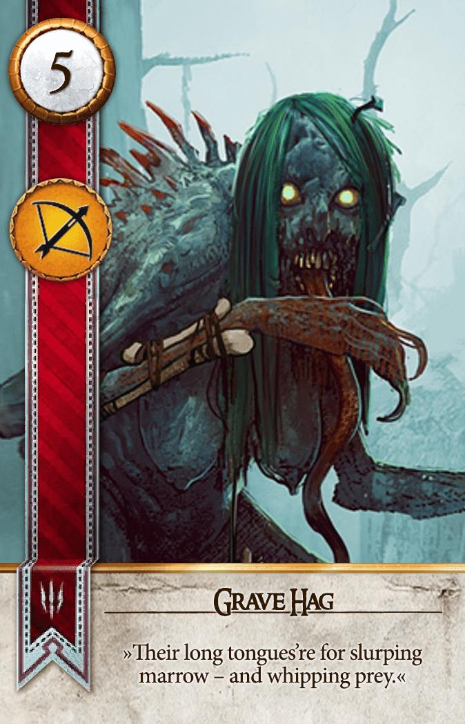 Grave Hag Gwent Card