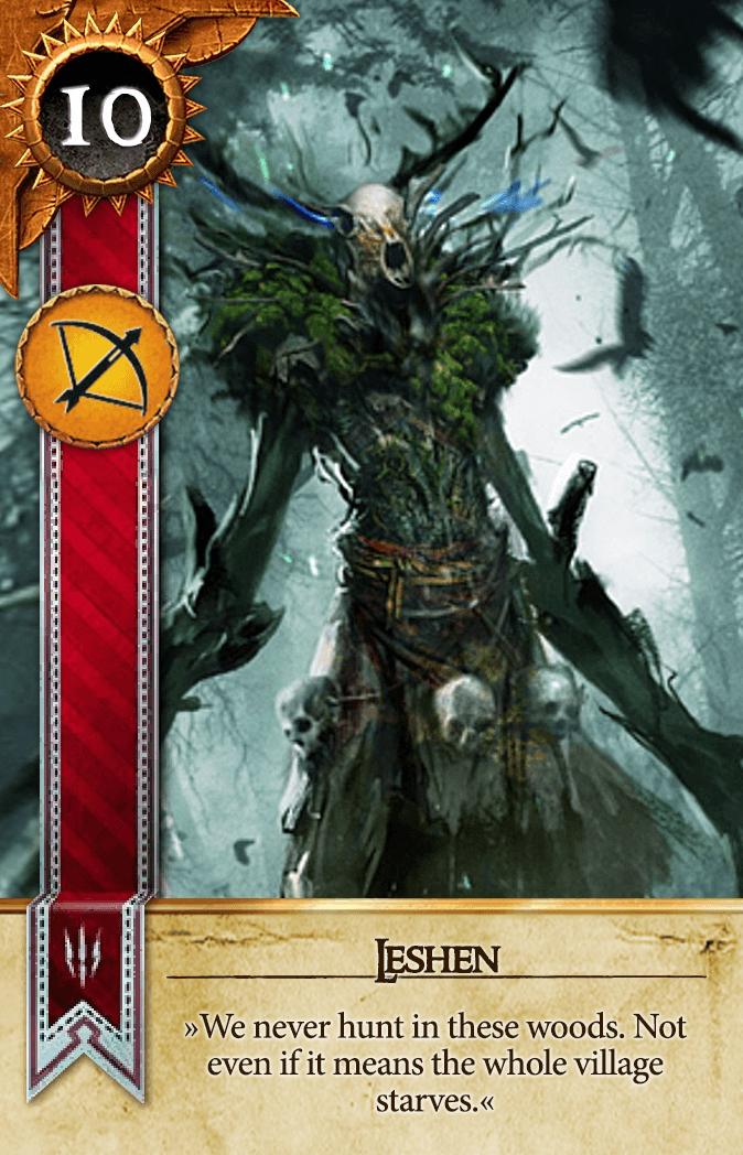 Leshen Gwent Card