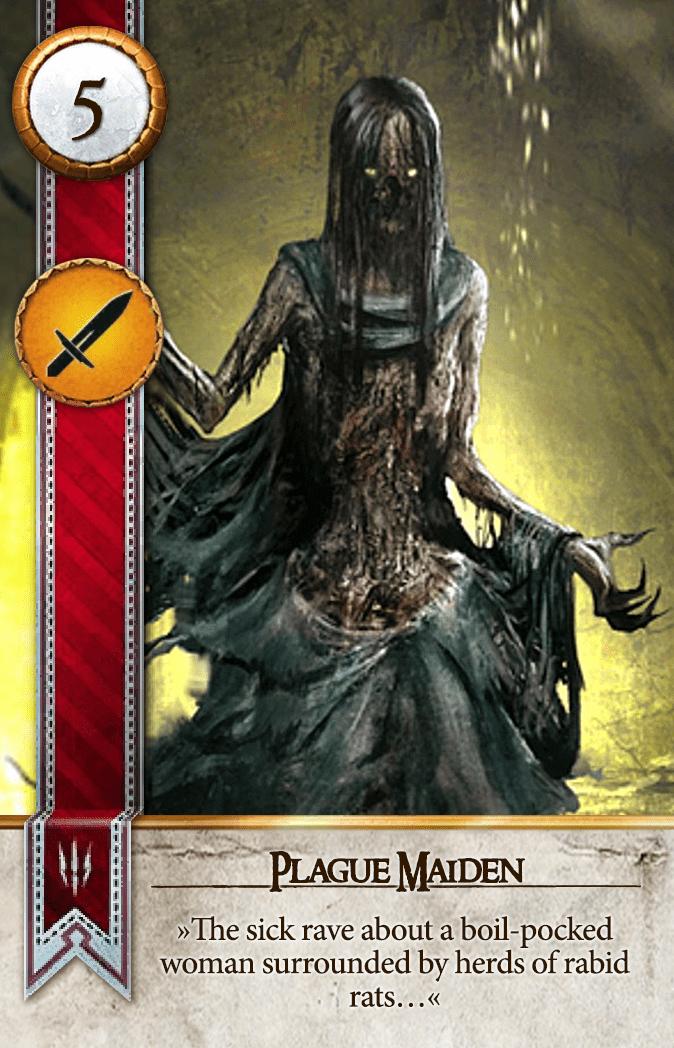 Plague Maiden Gwent Card