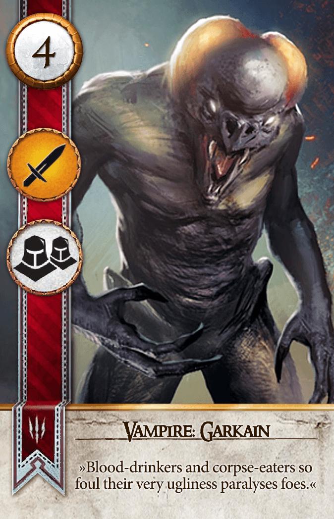 Vampire: Garkain Gwent Card