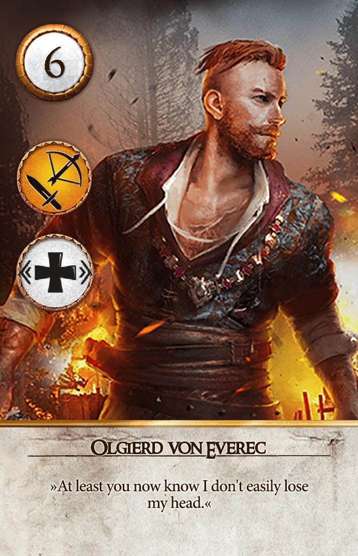 Olgierd von Everec Gwent Card