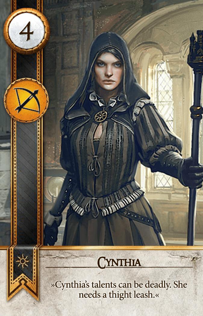 Cynthia Gwent Card
