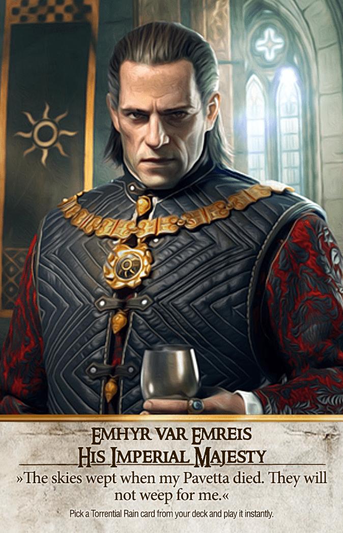Emhyr var Emreis: His Imperial Majesty Gwent Card
