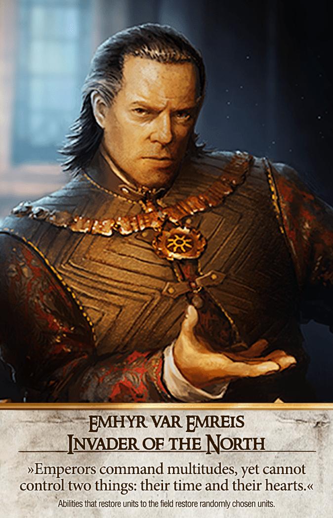 Emhyr var Emreis: Invader of the North Gwent Card