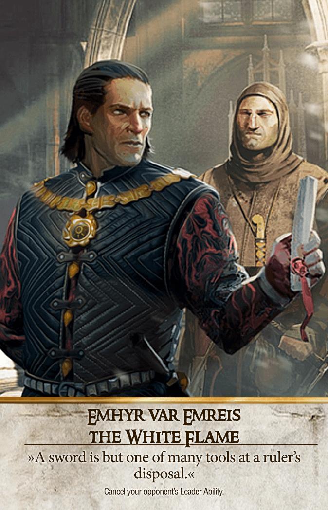 Emhyr var Emreis: The White Flame Gwent Card