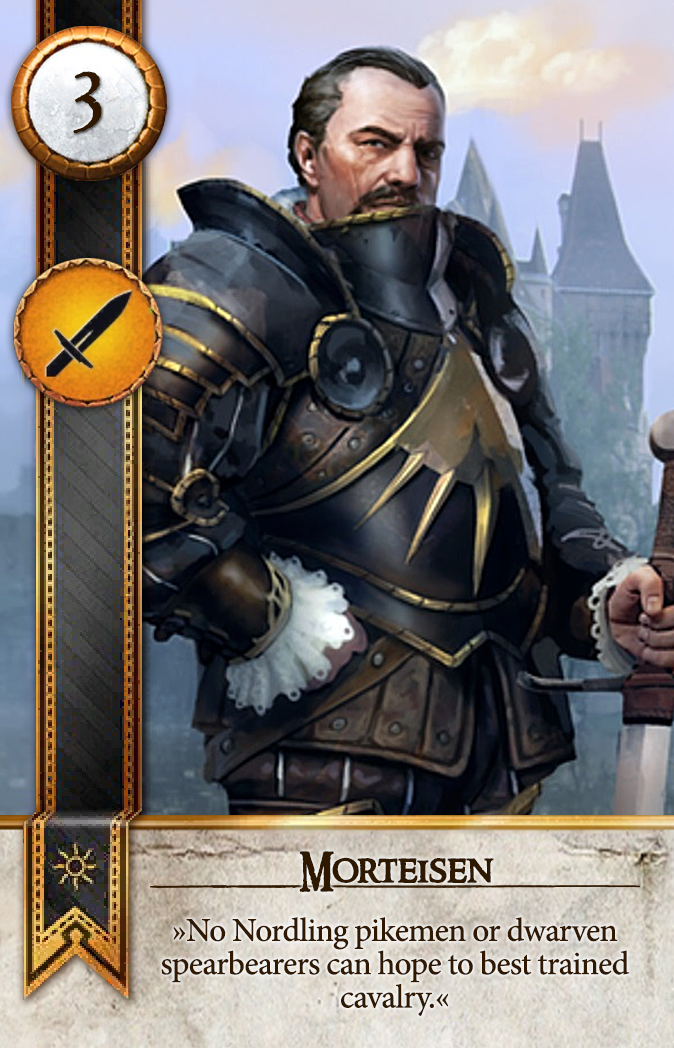 Morteisen Gwent Card