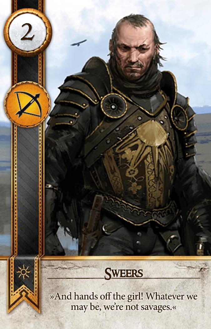 Sweers Gwent Card