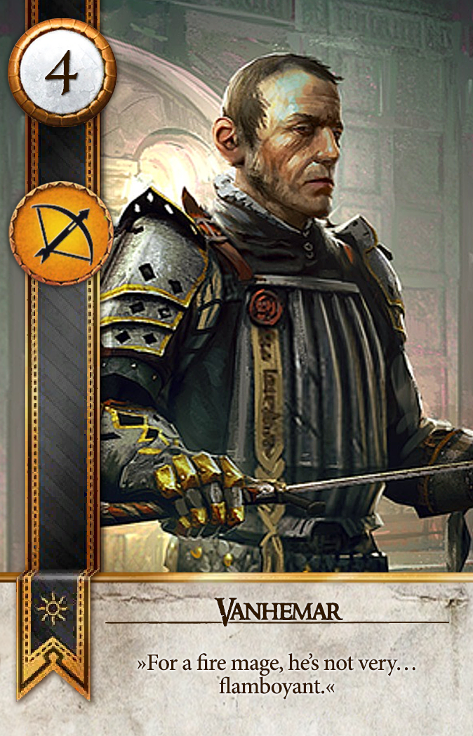 Vanhemar Gwent Card