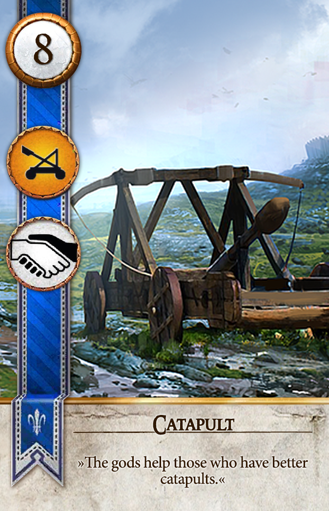 Catapult Gwent Card