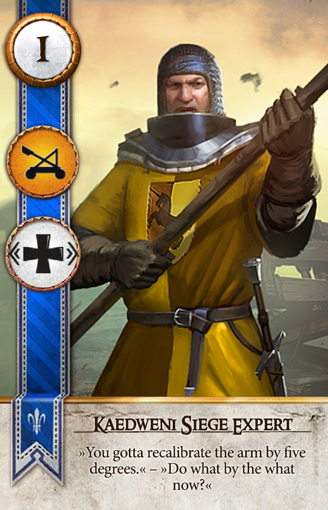 Kaedweni Siege Expert Gwent Card