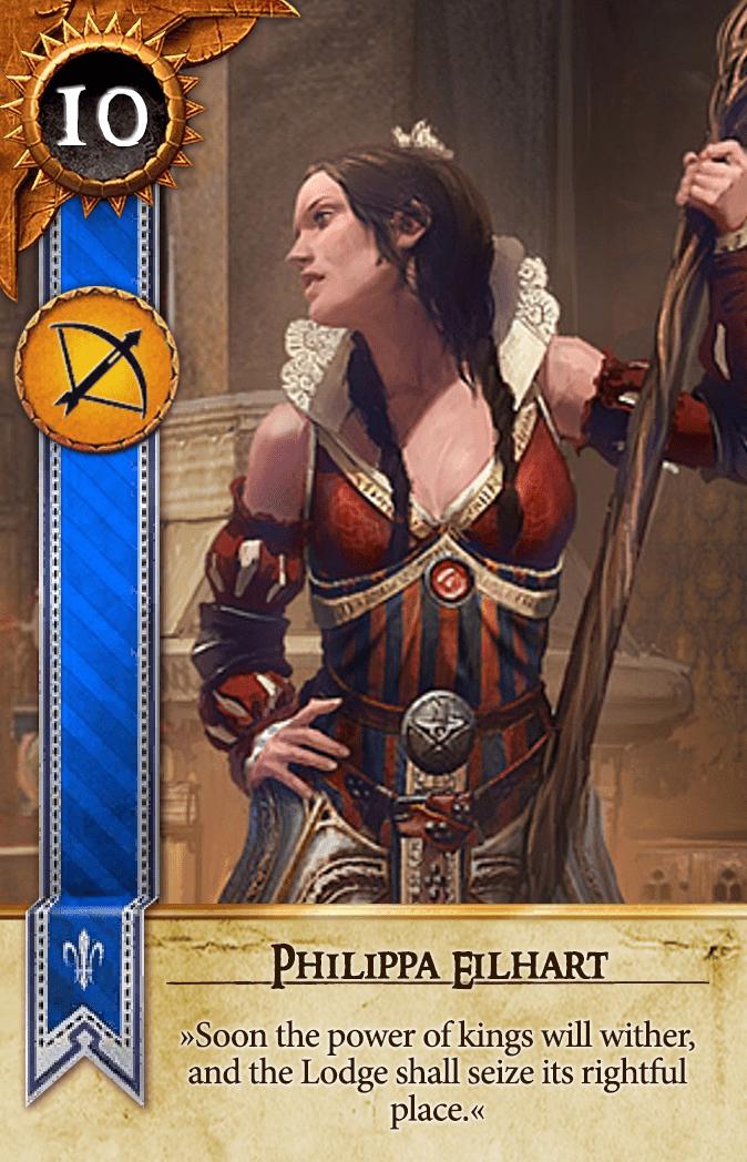 Philippa Eilhart Gwent Card