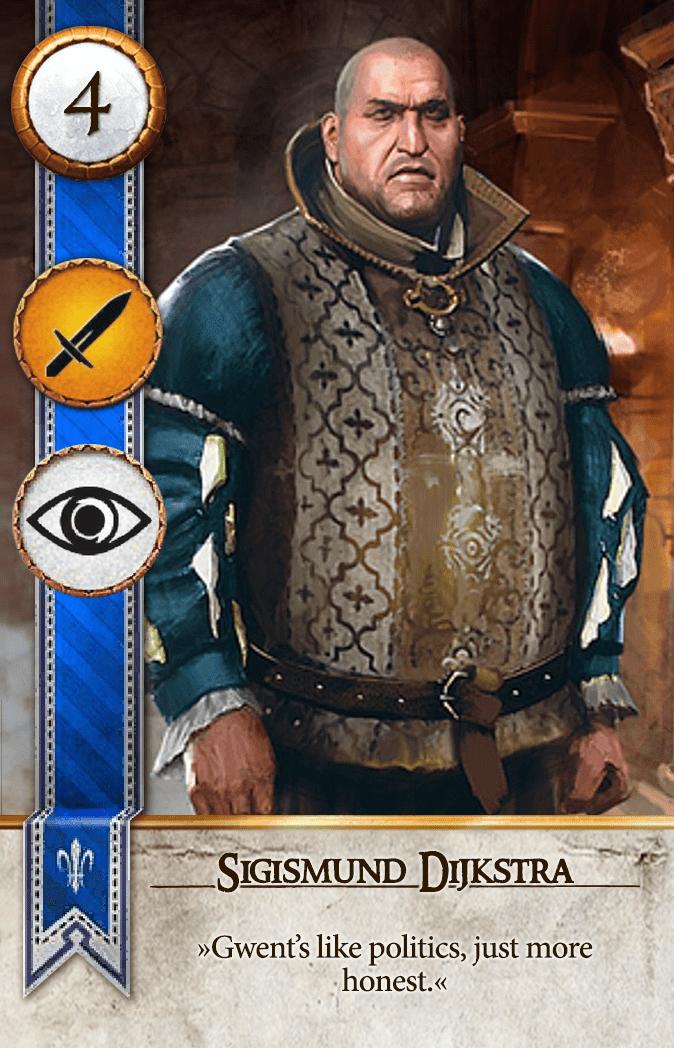Sigismund Dijkstra Gwent Card
