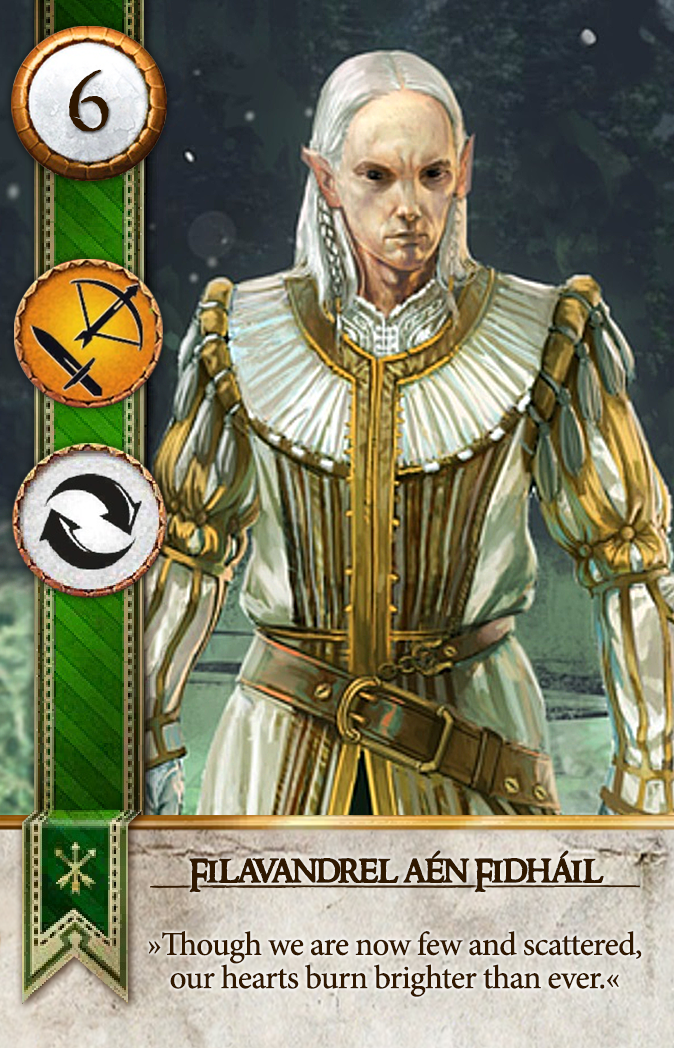 Filavandrel aen Fidhail Gwent Card