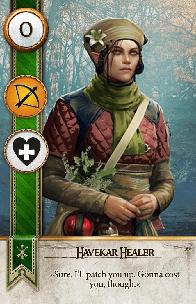 Havekar Healer Gwent Card