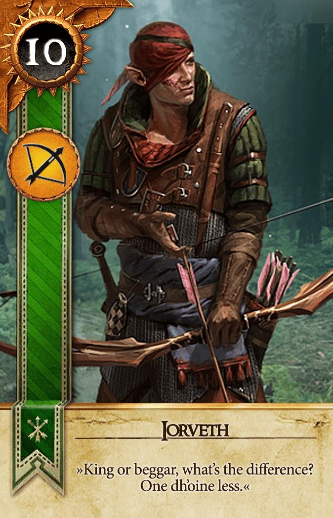 Iorveth Gwent Card