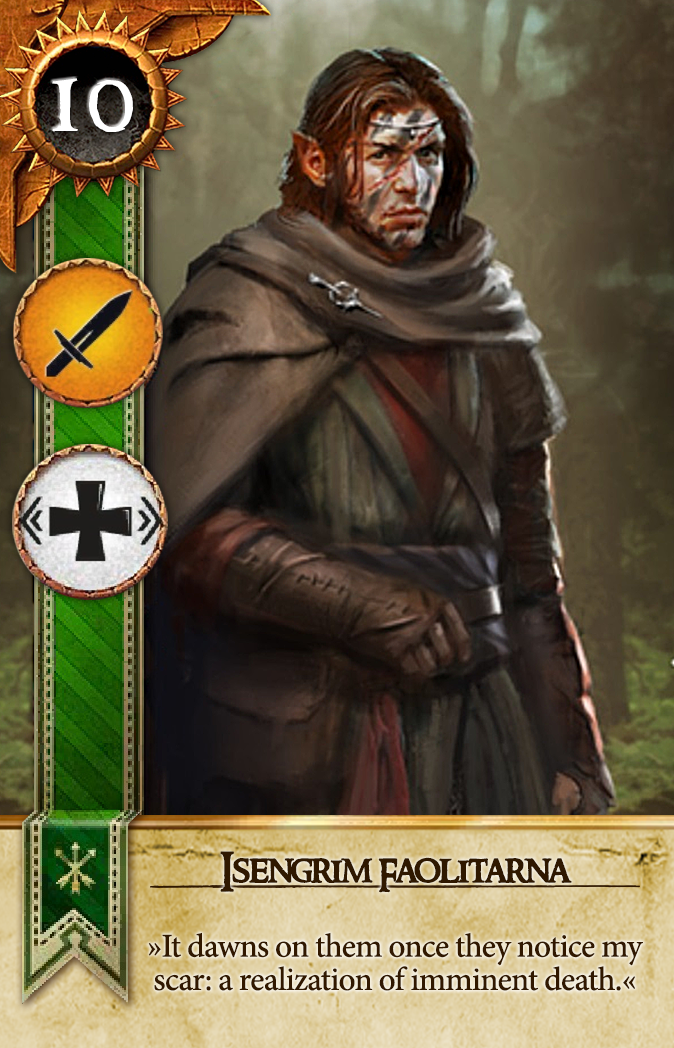 Isengrim Faoiltiarna Gwent Card