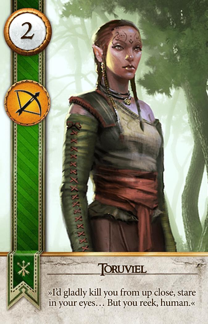 Toruviel Gwent Card