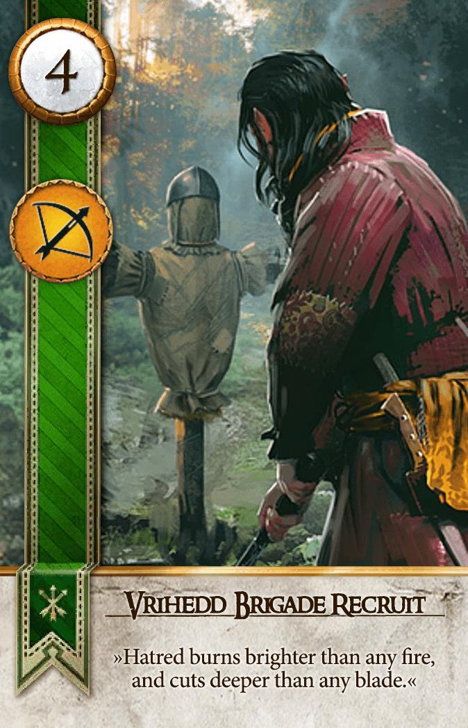 Vrihedd Brigade Recruit Gwent Card