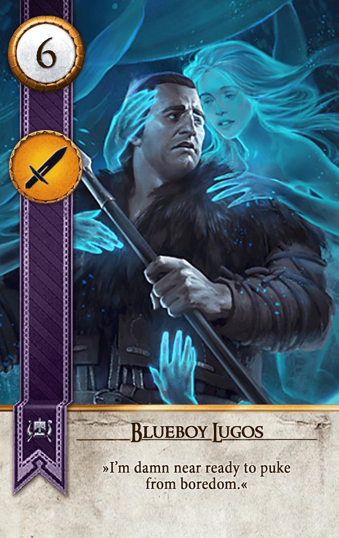 Blueboy Lugos Gwent Card