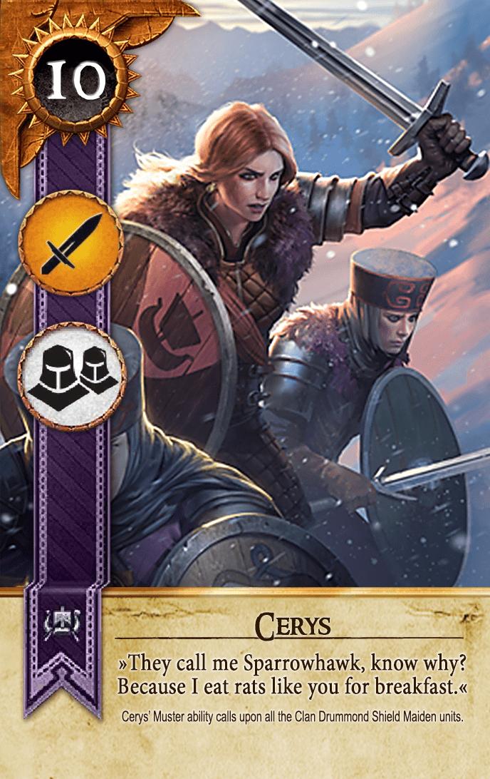 Cerys Gwent Card