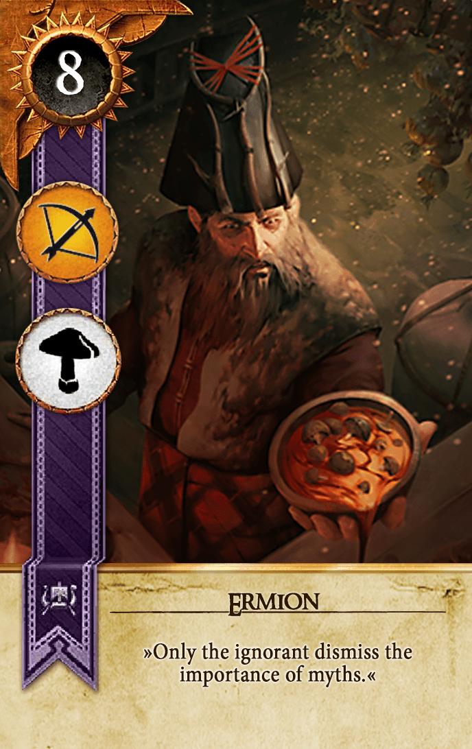 Ermion Gwent Card
