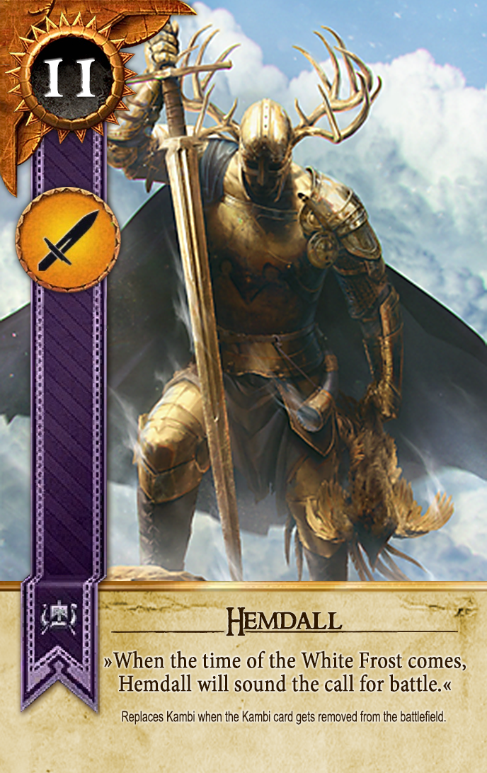 Hemdall Gwent Card