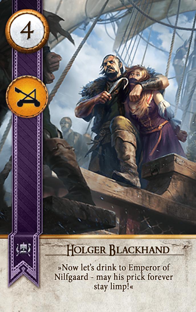 Holger Blackhand Gwent Card