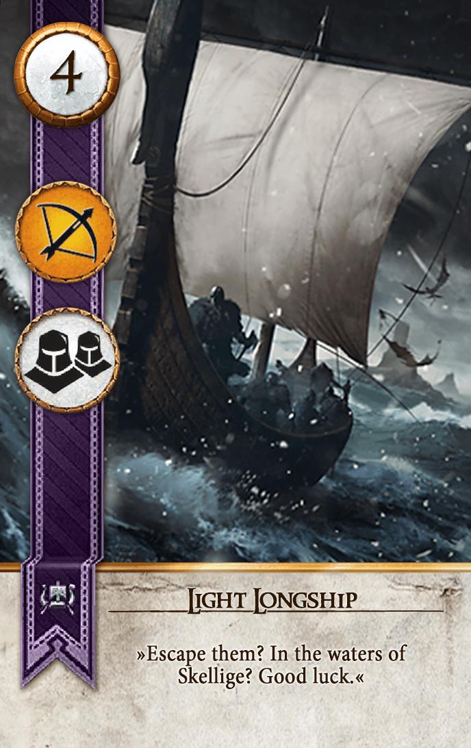 Light Longship Gwent Card